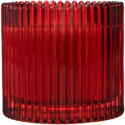 Better Homes and Gardens WM Scented candle in textured glass two wicks 12 oz 340.1 g - Sunlit Strawberry Patch