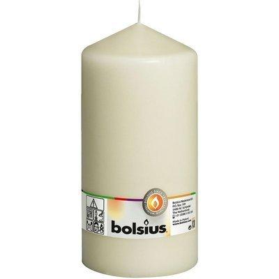 Bolsius Pillar Candle świeca bryłowa pieńkowa słupek 200/100 mm - Kremowa