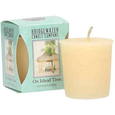 Bridgewater Candle scented votive candle 56 g - On Island Time