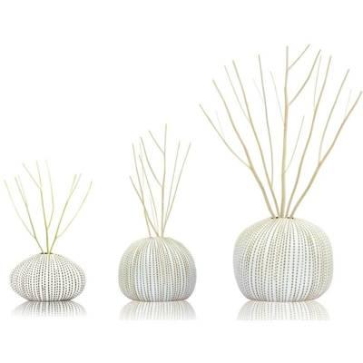 BsaB Luxury Ceramic Diffuser Set zestaw trzech luksusowych ceramicznych dyfuzorów zapachowych 240 ml - Serenity