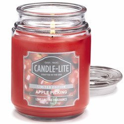 Candle-lite Everyday Collection Large Scented Candle Glass Jar 18 oz 510 g – Apple Picking