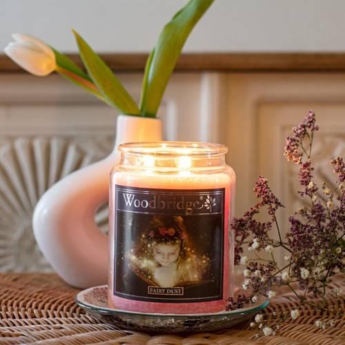 Woodbridge Scented Candle Large Jar 2 wicks 565 g - Fairy Dust