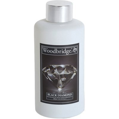 Woodbridge reed diffuser liquid refill bottle 200 ml - Black Diamond