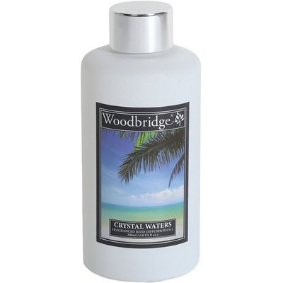 Woodbridge reed diffuser liquid refill bottle 200 ml - Crystal Waters