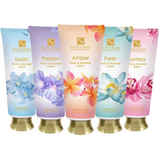 Health & Beauty anti-aging body and massage cream with Dead Sea Minerals 6.76 oz 200 ml - Fresh