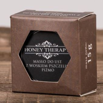 Honey Therapy White Fantasy butter lip balm beeswax 15 g - Musk