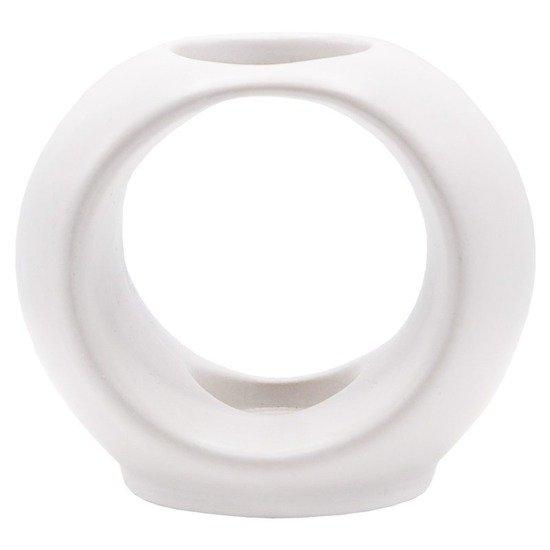 Scent Sticks ceramic Vase - White