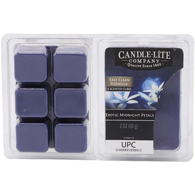 Candle-lite Everyday Collection Highly Fragranced Wax Cubes 2 oz intensywny wosk zapachowy kostki 56 g ~ 60 h - Exotic Midnight Petals