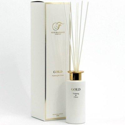 Fine Fragrance Precious Metals Collection dyfuzor zapachowy z patyczkami 150 ml - Gold