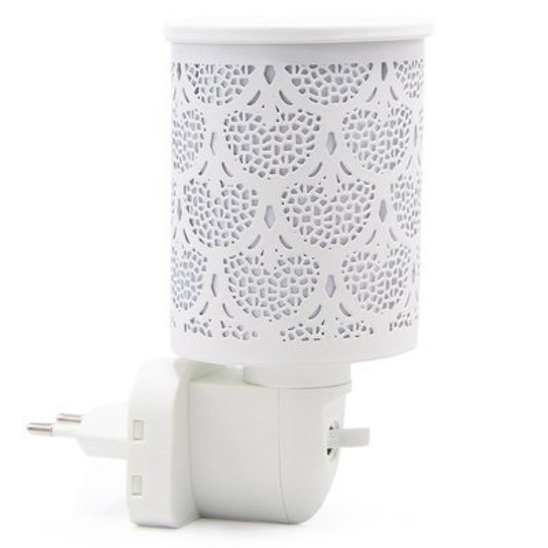 Kominek do wosków zapachowych elektryczny do gniazdka / kontaktu Bamako - Biały