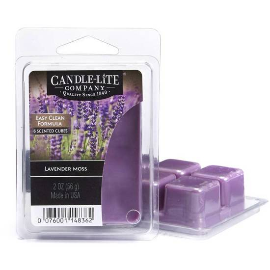 Candle-lite WM wosk zapachowy kostki 2 oz 56 g - Lavender Moss CL