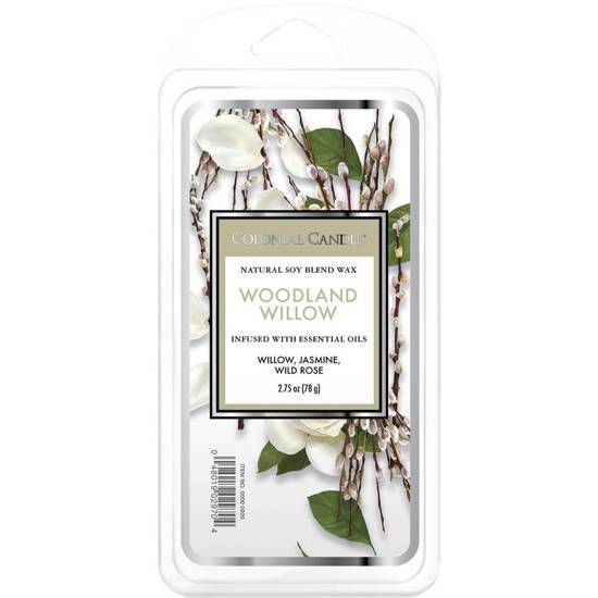 Colonial Candle Classic wosk zapachowy sojowy 2.75 oz 77 g - Woodland Willow
