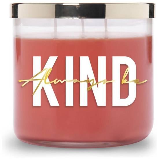 Colonial Candle Inspire sojowa świeca zapachowa w szkle 3 knoty 14.5 oz 411 g - Always Be Kind