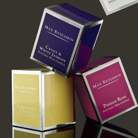 Max Benjamin Kolekcja Klasyczna świeca zapachowa w szkle handmade - Lemongrass & Ginger