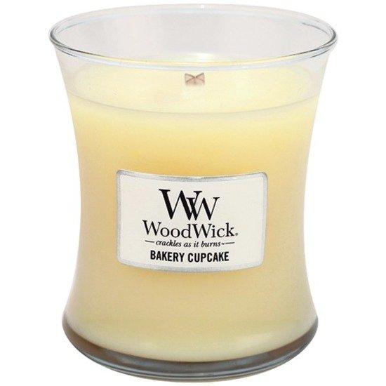 WoodWick Core Medium świeca zapachowa sojowa w szkle ~ 100 h - Bakery Cupcake